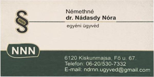 dr.Nádasdy Nóra
